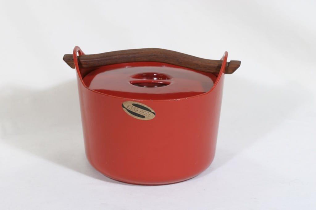 Rosenlew Sarpaneva-pata pata, punainen, suunnittelija Timo Sarpaneva,