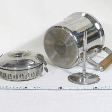 El-Rod Maija pulputuskahvinkeitin, 1.5 l, suunnittelija , 1.5 l, kromattu kuva 3