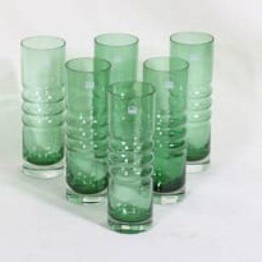 Riihimäen lasi Tzarina lasit, 30 cl, 6 kpl, suunnittelija Nanny Still, 30 cl