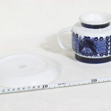 Arabia Sinilintu muki, 50 cl, suunnittelija Raija Uosikkinen, 50 cl, käsinmaalattu kuva 3