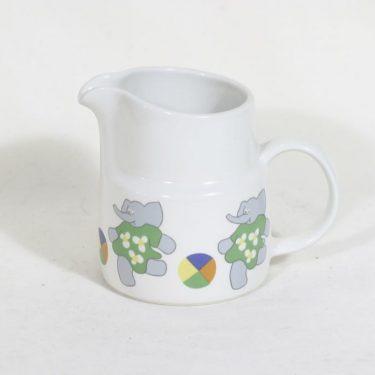 Arabia Elefantti lasten kaadin, 1 l, suunnittelija Inkeri Leivo, 1 l, serikuva