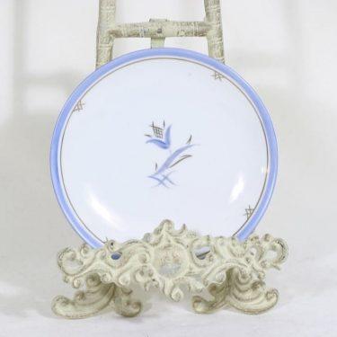Arabia Medina koristelautanen, käsinmaalattu, suunnittelija Greta-Lisa Jäderholm-Snellman, käsinmaalattu, pieni, art deco