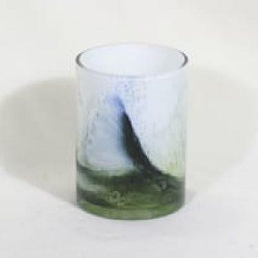 Riihimäen lasi Koralli maljakko, monivärinen, suunnittelija Tamara Aladin,