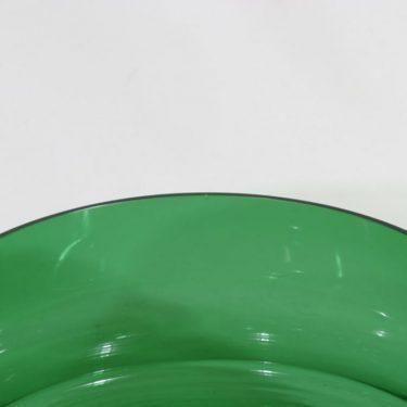 Riihimäen lasi Erkki malja, vihreä, suunnittelija Erkkitapio Siiroinen,  kuva 3