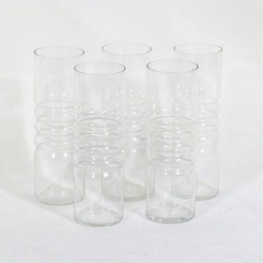 Riihimäen lasi Tzarina lasit, 30 cl, 5 kpl, suunnittelija Nanny Still, 30 cl