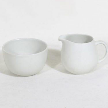 Arabia 24H sokerikko ja kermakko, valkoinen, suunnittelija ,