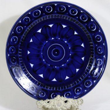 Arabia Valencia platter, hand-painted, designer Ulla Procope, signed