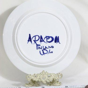 Arabia Valencia vati, käsinmaalattu, suunnittelija Ulla Procope, käsinmaalattu, signeerattu kuva 2