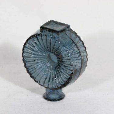 Riihimäen lasi Aurinkopullo koristepullo, siniharmaa, suunnittelija Helena Tynell, sävy X kuva 2