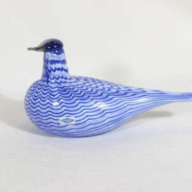 Nuutajärvi koristelintu, Lintu sininen, suunnittelija Oiva Toikka, Lintu sininen