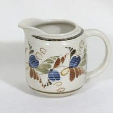Arabia MS kaadin, 1 l, suunnittelija , 1 l, käsinmaalattu, signeerattu, kukkakuvio