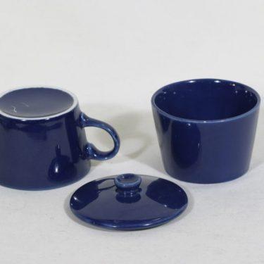 Arabia Kilta sokerikko ja kermakko, sininen, suunnittelija Kaj Franck,  kuva 2
