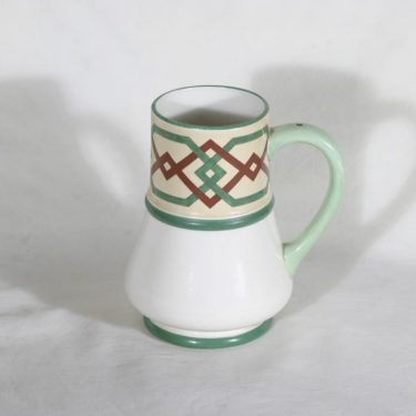 Arabia Fennia muki/kannu, käsinmaalattu, suunnittelija , käsinmaalattu