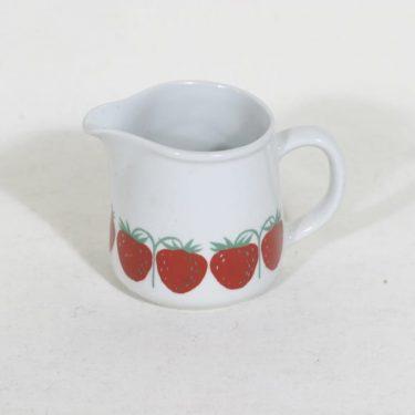 Arabia Pomona kermakko, mansikka, suunnittelija Raija Uosikkinen, mansikka