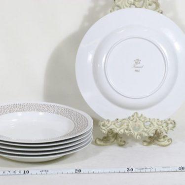 Arabia Kimmel lautaset, syvä, 6 kpl, suunnittelija Esteri Tomula, syvä, serikuva kuva 2
