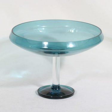 Riihimäen lasi Harlekiini malja, jalallinen, suunnittelija Nanny Still, jalallinen