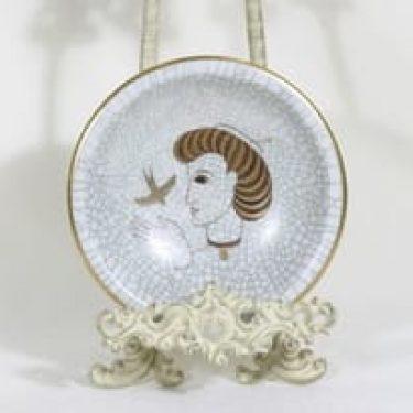 Arabia Craquele vati, käsinmaalattu, suunnittelija , käsinmaalattu, signeerattu