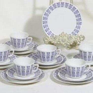 Arabia Veronica kahvikupit, 6 kpl, suunnittelija , serikuva