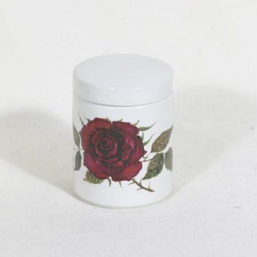 Arabia Ruusu hillotölkki, suunnittelija Anneli Qveflander, siirtokuva