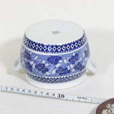 Arabia Puolukka purnukka, suunnittelija , kuparipainokoriste kuva 2