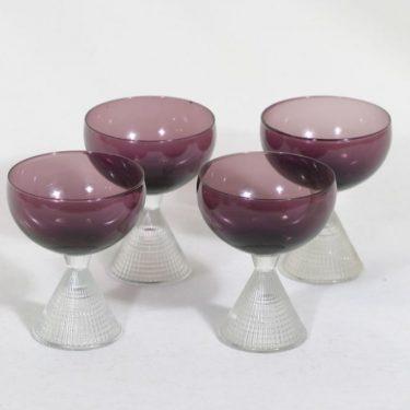 Iittala Briljant cocktail-lasit, 10 cl, 4 kpl, suunnittelija Tapio Wirkkala, 10 cl