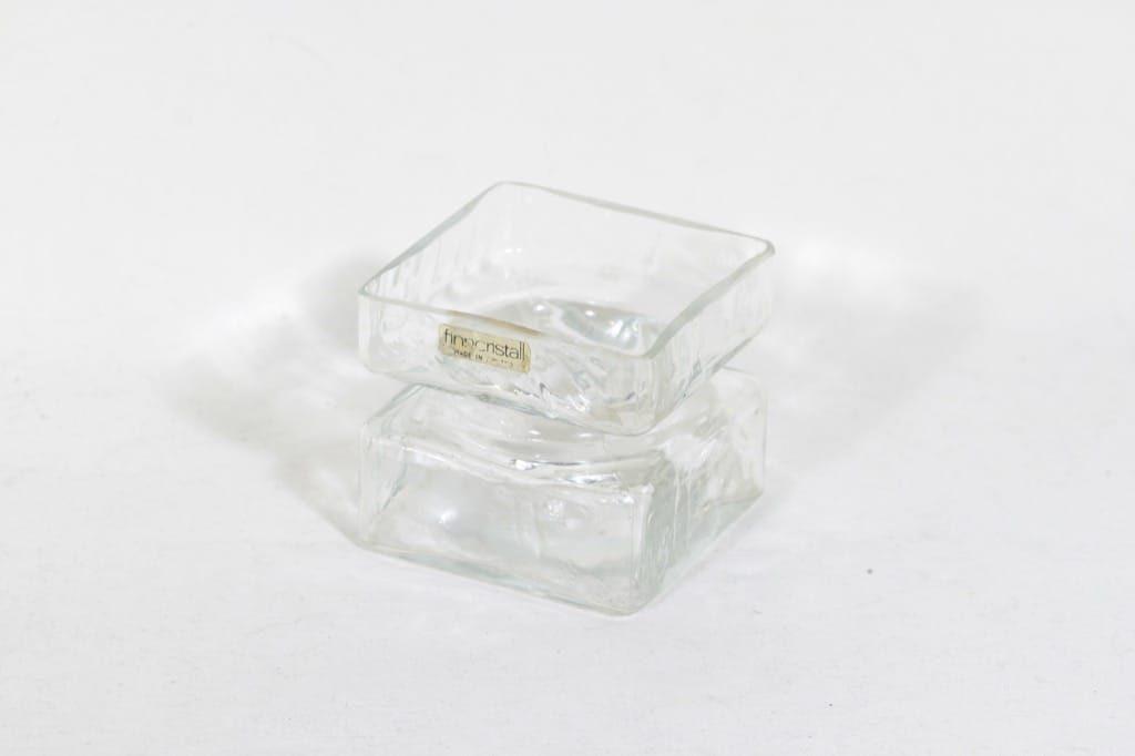 Riihimäen lasi Pala maljakko, kirkas, suunnittelija Helena Tynell, pieni