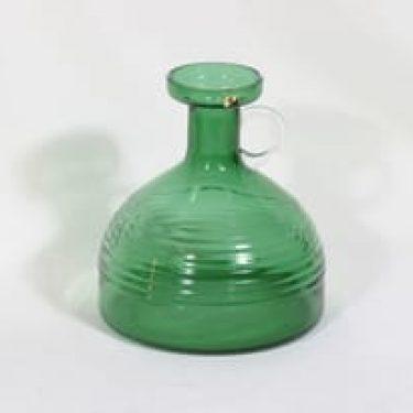 Riihimäen lasi Kleopatra kaadin, vihreä, suunnittelija Tamara Aladin,