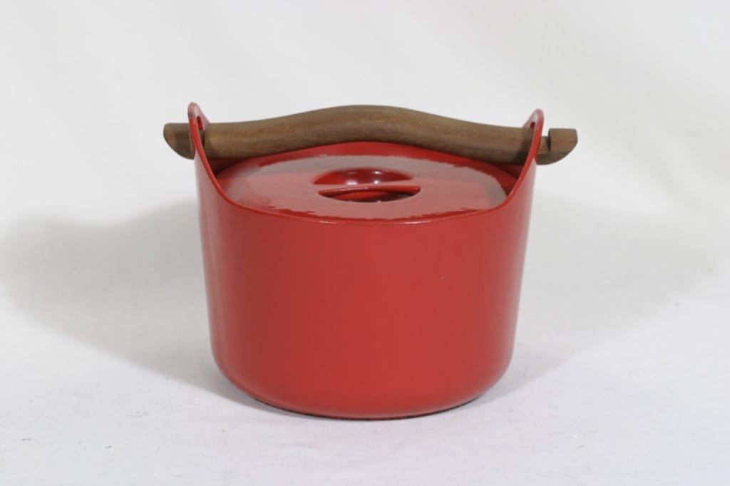 Rosenlew Sarpaneva-pata pata, punainen, suunnittelija Timo Sarpaneva, 3 l