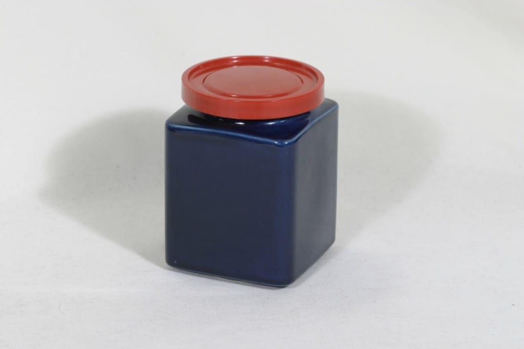 Arabia FF 2 purnukka, sininen, suunnittelija , koristelematon