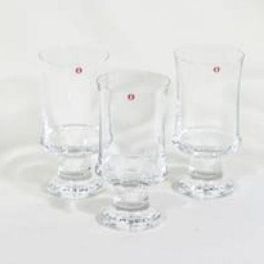 Iittala Tavastia lasit, 30 cl, 3 kpl, suunnittelija Tapio Wirkkala, 30 cl