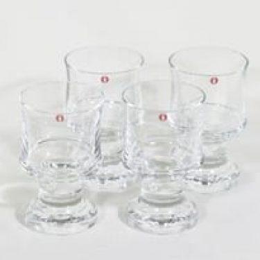 Iittala Tavastia lasit, 15 cl, 4 kpl, suunnittelija Tapio Wirkkala, 15 cl