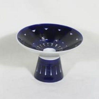 Arabia Valencia kynttilänjalka, käsinmaalattu, suunnittelija Ulla Procope, käsinmaalattu, pieni, signeerattu
