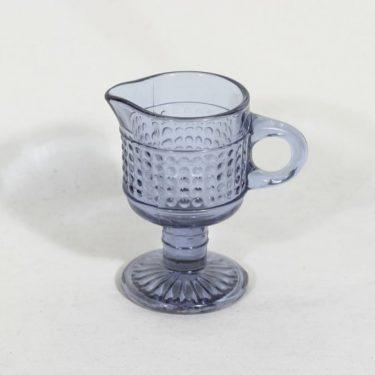 Riihimäen lasi Barokki kermakko, siniharmaa, suunnittelija Erkkitapio Siiroinen,