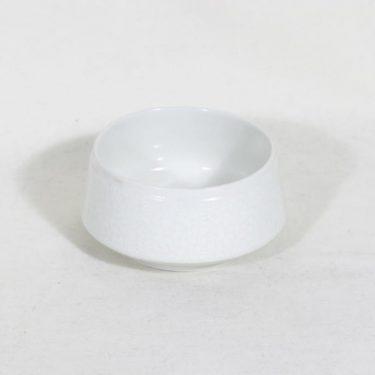 Arabia Pitsi sokerikko, valkoinen, suunnittelija Raija Uosikkinen,