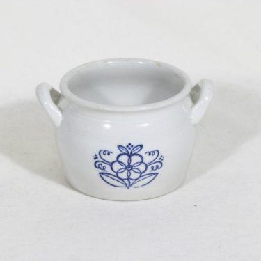 Arabia B 0 ruukku, 0.5 l, suunnittelija , 0.5 l, pieni, kukkakuvio