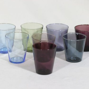 Nuutajärvi Viola lasit, 20 cl, 8 kpl, suunnittelija Kaj Franck, 20 cl