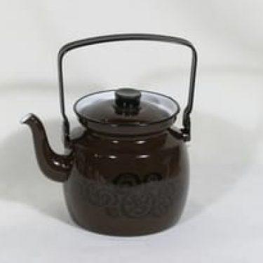 Finel kahvipannu, ruskea, suunnittelija , serikuva