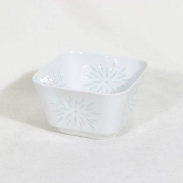 Arabia riisiposliini kulho, valkoinen, suunnittelija Friedl Holzer-Kjellberg,