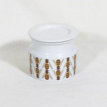 Arabia Pomona purnukka, hunaja, suunnittelija Raija Uosikkinen, hunaja, serikuva, retro