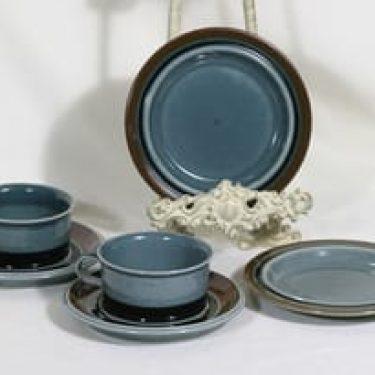 Arabia Meri teekupit ja lautaset, 2 kpl, suunnittelija ,