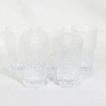 Iittala Aslak lasit, 40 cl, 5 kpl, suunnittelija Tapio Wirkkala, 40 cl