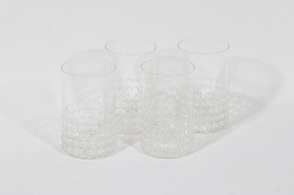 Riihimäen lasi Grappo lasit, 40 cl, 4 kpl, suunnittelija Nanny Still, 40 cl
