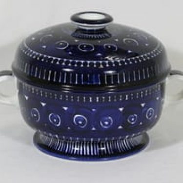 Arabia Valencia malja, 2.85 l, suunnittelija Ulla Procope, 2.85 l, suuri, käsinmaalattu, signeerattu