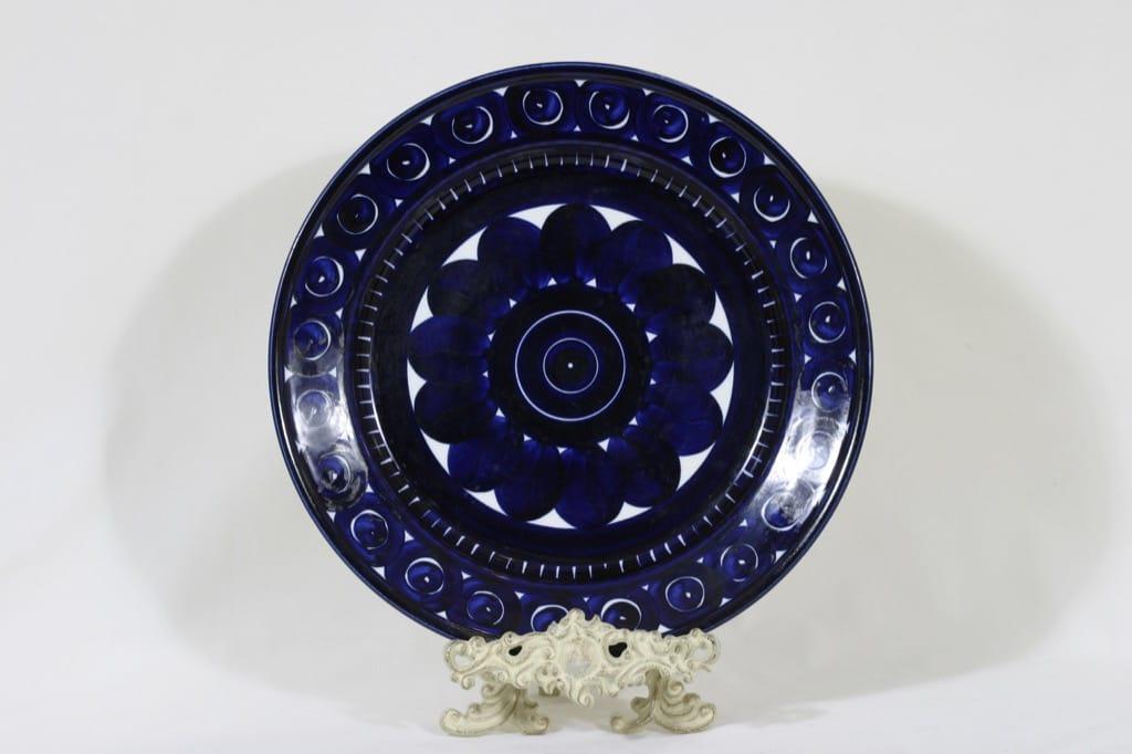 Arabia Valencia fruit plate, hand-painted, designer Ulla Procope, big, signed