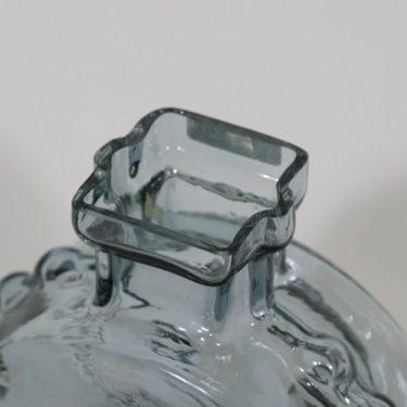 Riihimäen lasi Ahkeraliisa maljakko, siniharmaa, suunnittelija Helena Tynell,  kuva 3