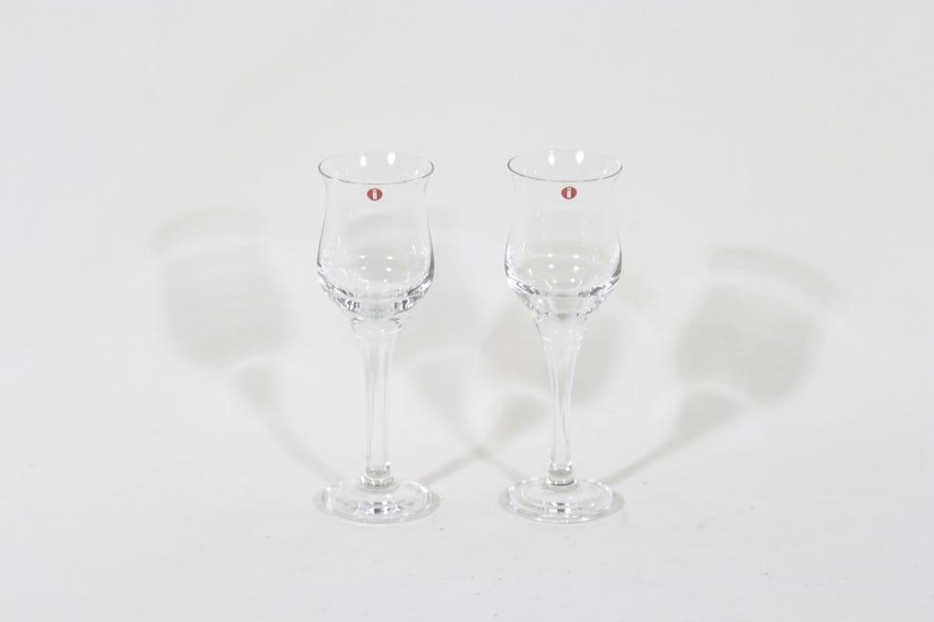 Iittala Loimu lasit, 10 cl, 2 kpl, suunnittelija Timo Sarpaneva, 10 cl