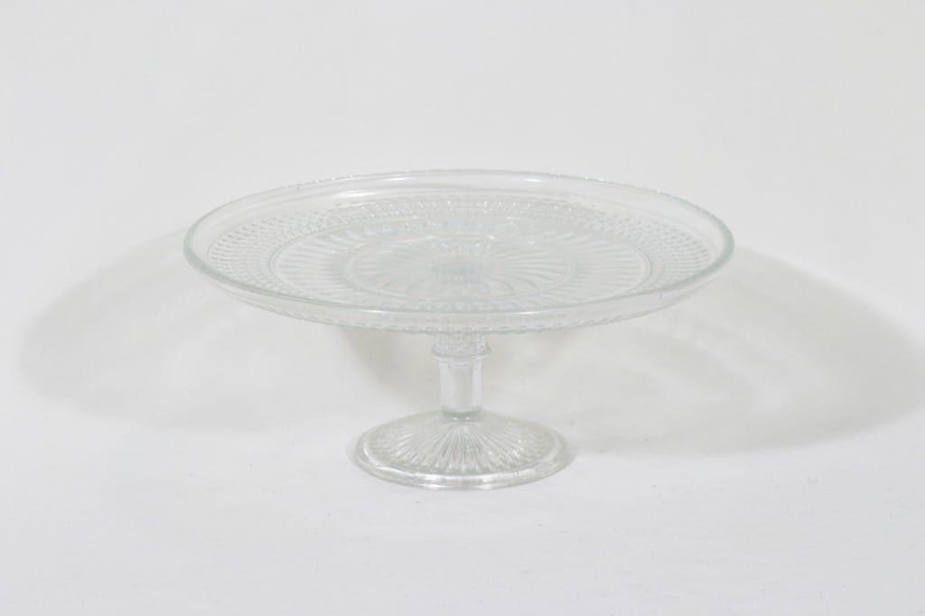 Riihimäen lasi Barokki vati, jalallinen, suunnittelija Erkkitapio Siiroinen, jalallinen