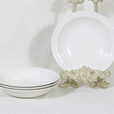 Arabia Harlekin lautaset, syvä, 4 kpl, suunnittelija , syvä