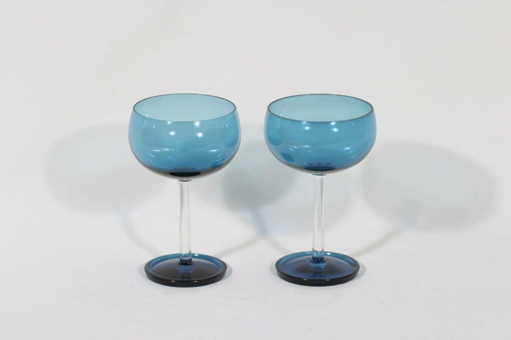Riihimäen lasi Harlekiini jälkiruokamaljat, 20 cl, 2 kpl, suunnittelija Nanny Still, 20 cl