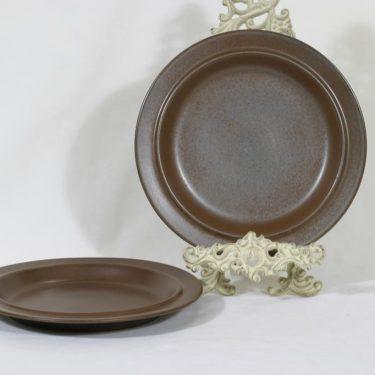 Arabia Ruska lautaset, matala, 2 kpl, suunnittelija Ulla Procope, matala